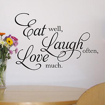 Eat wall art sticker