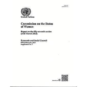 Verslag van de Commissie over de Status van vrouwen over de vijftig-zevende zitting (officiële Records, 2013: Supplement)
