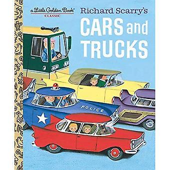 Richard Scarry van auto's en vrachtwagens (gouden boekje)