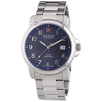 Intelihance Swiss Soldier First wristwatch, male, stainless steel, Silver (1)