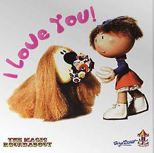Magic Roundabout (Dougal & Florence) fridge magnet
