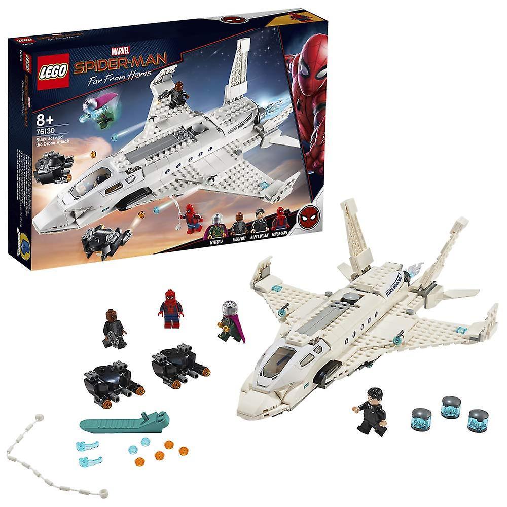 LEGO Marvel Stark jet et l'attaque de drone Building Set 76130