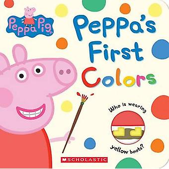 Peppa's First Colors (Peppa Pig) by Scholastic - Eone - 9781338182576
