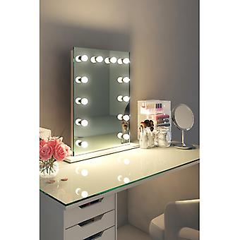 Diamond X Table Top Hollywood Makeup Mirror with Dimmable LED k90sLED