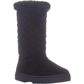 Style & Co. Womens Nickyy Leather Closed Toe Mid-Calf Cold Weather Boots