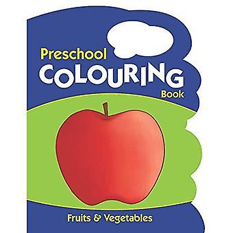 Frutta e verdura (libri da colorare in età prescolare)