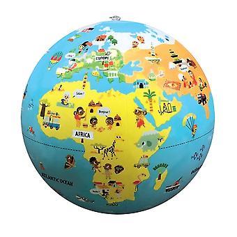 Tiny Travelers oppblåsbare World Globe, 12