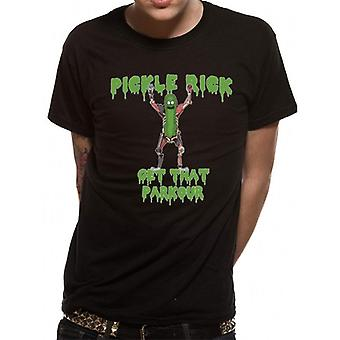 Rick And Morty Unisex Adults Parkour T-Shirt