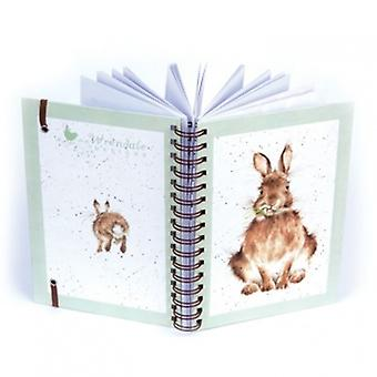 Wrendale Designs Hare Ring Bound Notebook   Gifts From Handpicked