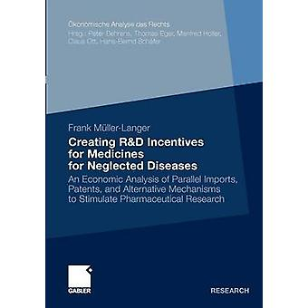 Creating RD Incentives for Medicines for Neglected Diseases  An Economic Analysis of Parallel Imports Patents and Alternative Mechanisms to Stimulate Pharmaceutical Research by MllerLanger & Frank