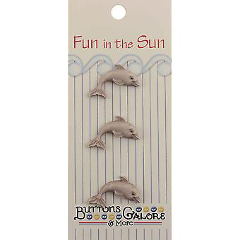Fun In The Sun Buttons Dolphin Fn 126