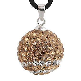 Sterling silver pendant with swarovski crystals ZD1108