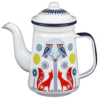 Wild and Wolf Day Coffee Pot