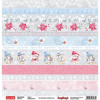Noël de ScrapBerry baies recto papier cartonné 12