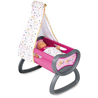 Smoby Baby Nurse Crib (Toys , Dolls And Accesories , Baby Dolls , Cradle)