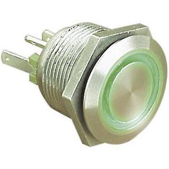 Tamper-proof pushbutton 24 Vdc 0.05 A 1 x Off/(On) ESKA Bulgin MPI002/28/GN IP66 momentary 1 pc(s)
