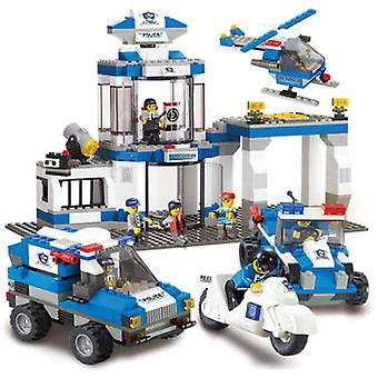 Sluban Swat Police Command 582 Pieces (Toys , Constructions , Vehicles)