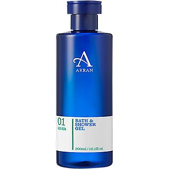 Arran Sense of Scotland Apothecary Aloe Vera Bath & Shower Gel