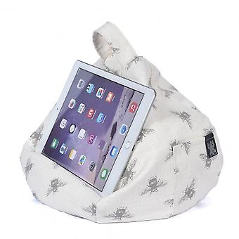 iBeani iPad, Tablet & eReader Bean Bag Stand / Cushion - Bees