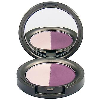 Beauty Without Cruelty Pressed Mineral Eyeshadow Duo Juicy Plum