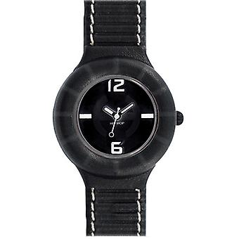 Hip Hop Uhr Silikonuhr leather small HWU0204 nero