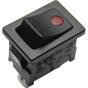 Toggle switch 12 V 16 A 1 x Off/On SCI R13-66B2-02