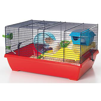 Peggy Hamster Cage Assorted 50x36x28cm (Pack of 2)