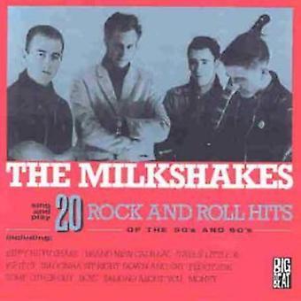 Thee Milkshakes - 20 Rock & Roll Hits of the 50's & [Vinyl] USA import