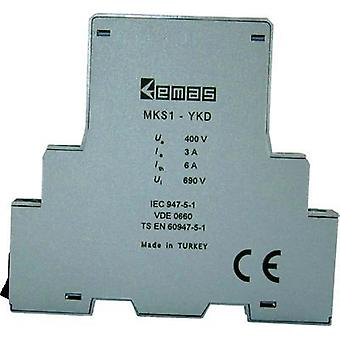 Auxiliary switch 400 Vac 3 A 1 maker, 1 breaker EMAS MKS1-YKD01 1 pc(s)