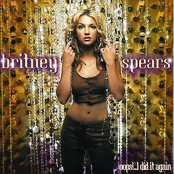 Britney Spears - Oops! Ich Did It Again [CD] USA import