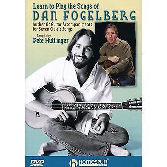 Lære at spille sange af Dan Fogelberg - Lær at spille sange af Dan Fogelberg [DVD] USA importen