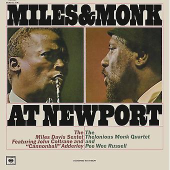 Miles Davis - Miles & Monk at Newport (Mono Vinyl) [Vinyl] USA importeren