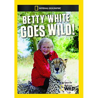 Betty White Goes Wild [DVD] USA import
