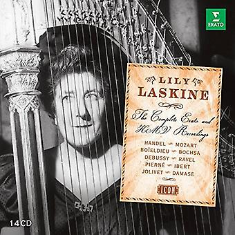 Lily Laskine - Lily Laskine: Komplet Erato & Hmv optagelser [CD] USA import