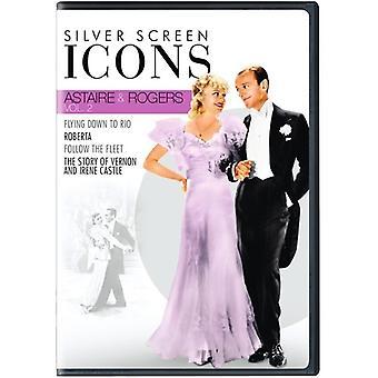 Sølv skærmen ikoner: Astaire & Rogers 2 [DVD] USA importerer