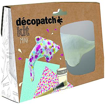 Decopatch Dolphin Mini Kit Mache