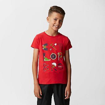 Red Peter Storm Boys' Explorer T-shirt