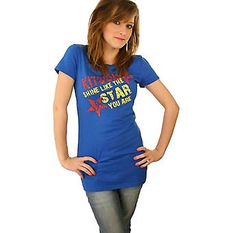 W.A.T Kitson LA Blue Shine Like The Star You Are T Shirt