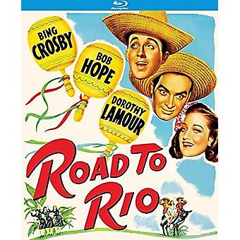 Road to Rio (1947) [Blu-ray] USA import