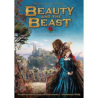 Skønhed & udyret [DVD] USA importerer