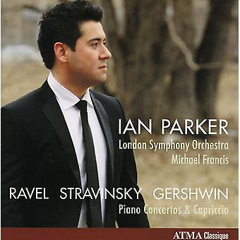Ravel/Stravinsky/Gershwin - Ravel, Stravinsky, Gershwin: Piano Concertos [CD] USA import