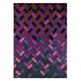 Agave Purple Geometric Rugs - Ted Baker 57105