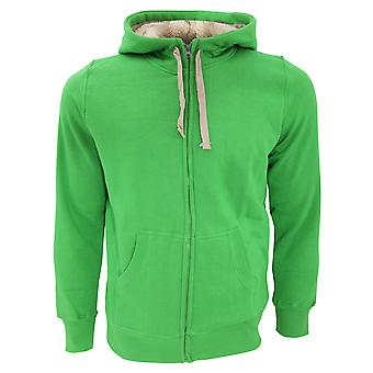 SOLS Sherpa Unisex Zip-Up Hooded Sweatshirt / Hoodie