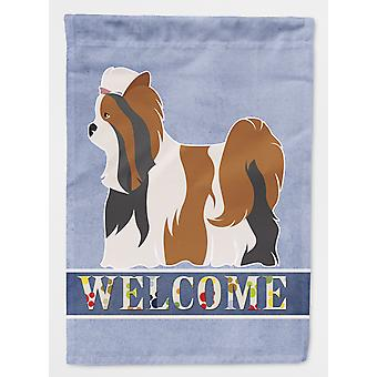 Carolines Treasures  BB8308GF Biewer Terrier Welcome Flag Garden Size