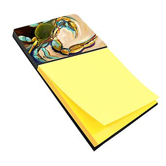 Carolines Treasures  JMK1098SN Blue Crab Sticky Note Holder