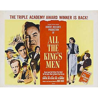 All the Kings Men Movie Poster (22 x 28)