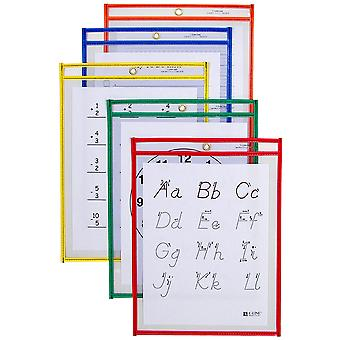 Reusable Dry Erase Pockets 9