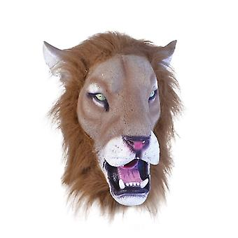 Lion Mask Realistic + Hair