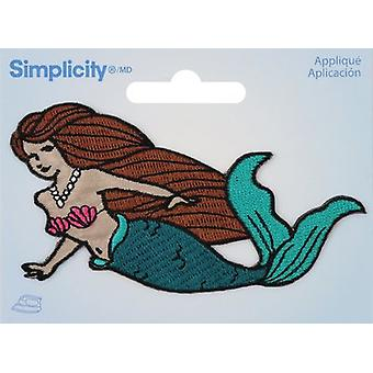 Wrights Iron-On Applique-Mermaid 193 5034