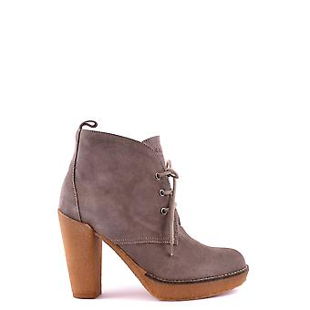 Serafini women's MCBI277005O brown suede ankle boots